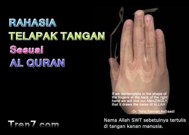 Rahasia Garis Tangan Sesuai al Quran