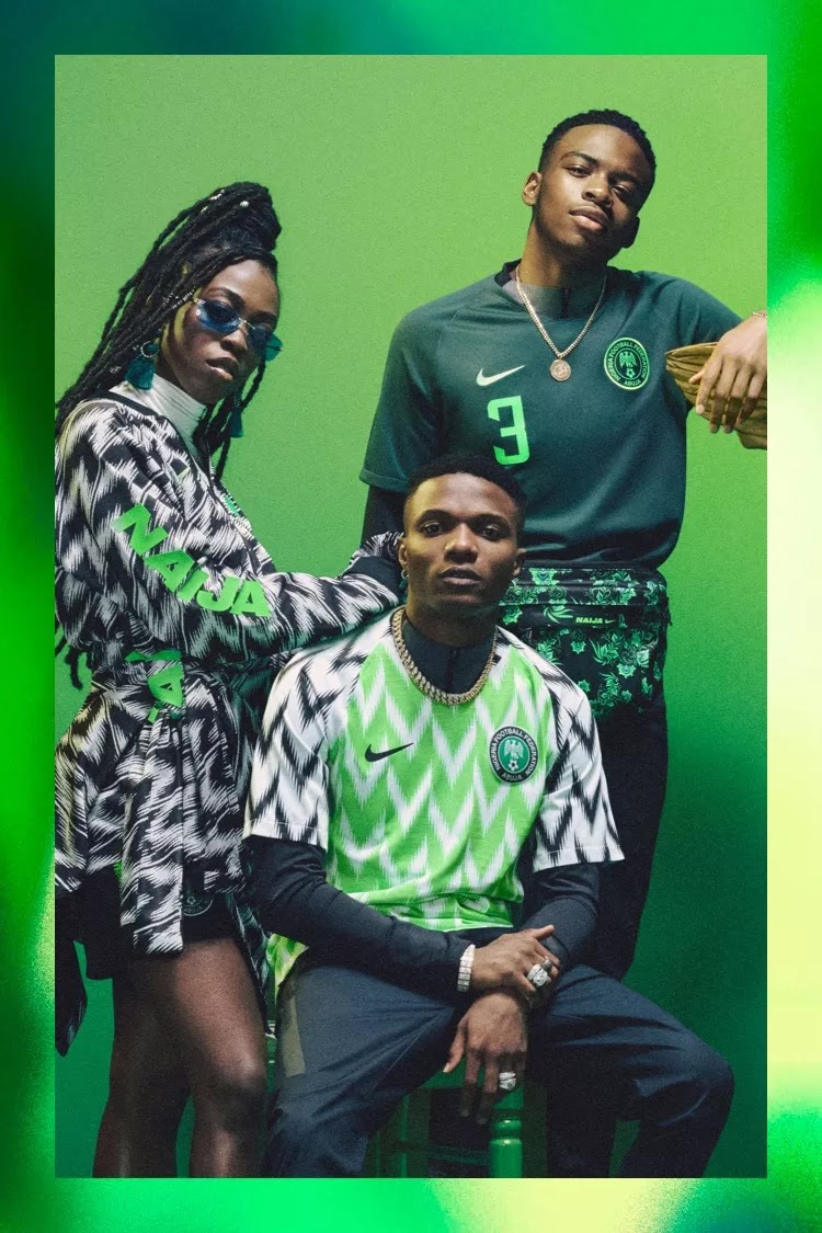 Quemar Popa Verdulero  Nigeria Extends Nike Kit Deal - Footy Headlines