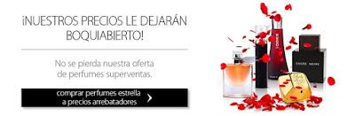 Perfumería online.