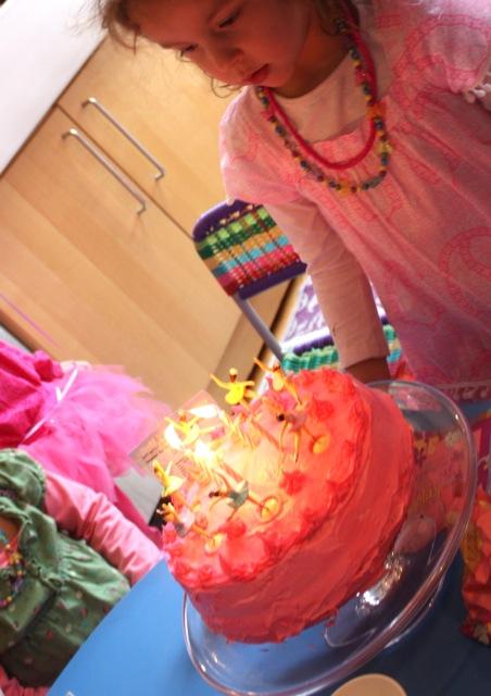 Strawberry Delight Birthday Cake