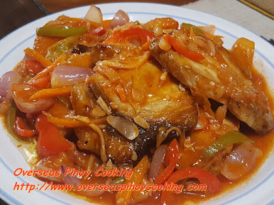 Sweet and Sour Swordfish Steak