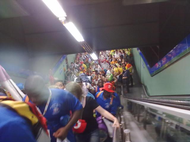 Metro de Madrid registró 10,4 millones de desplazamientos durante la Semana Mundial de la Juventud