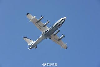20171224 - Primer vuelo del AG600