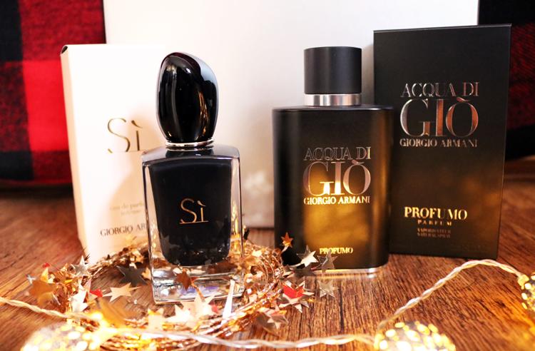 Giorgio Armani Sì Intense Eau de Parfum & Acqua Di Gio Profumo Pour Homme