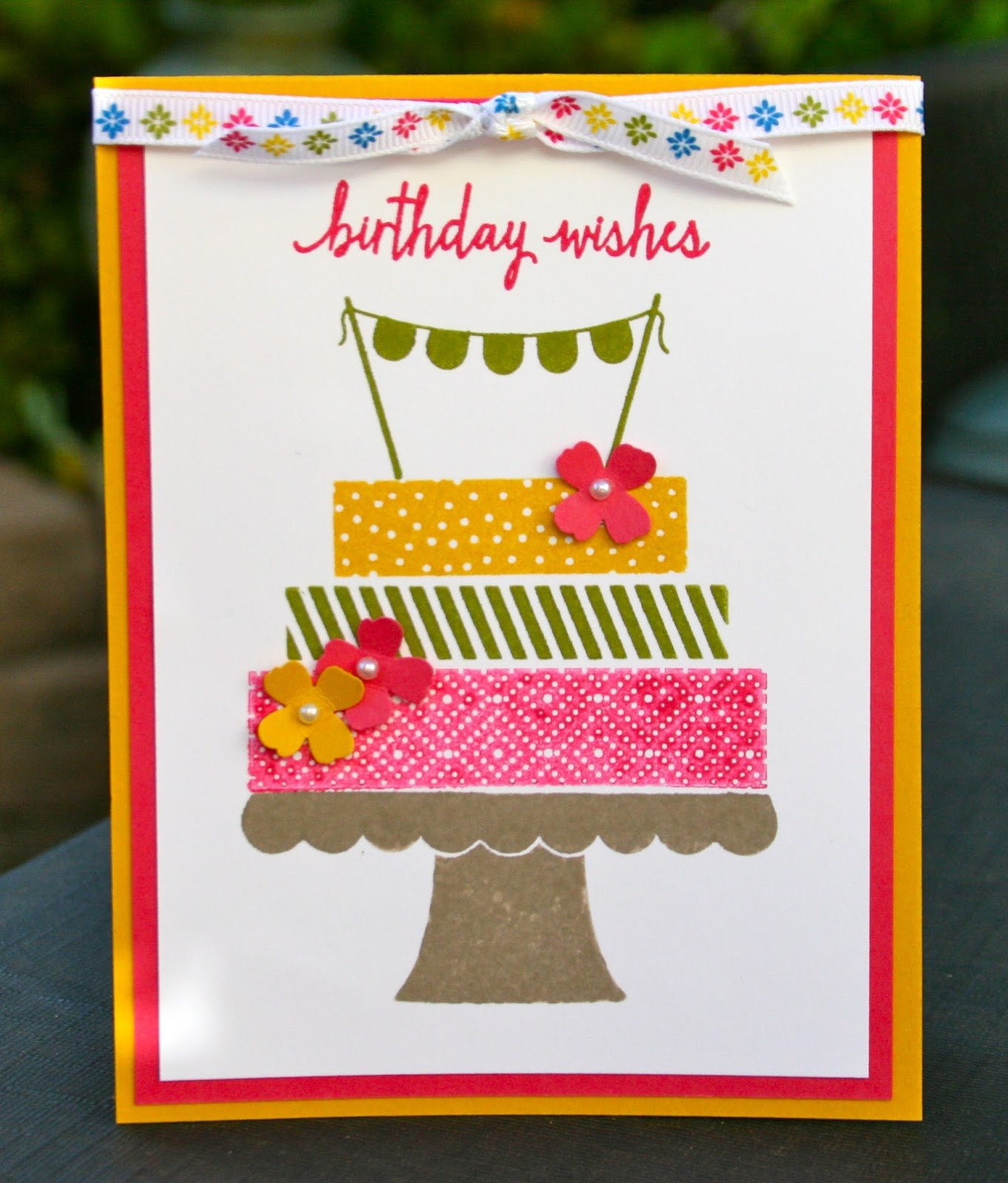 Krystal's Cards: Stampin' Up! Build A Birthday Greeting