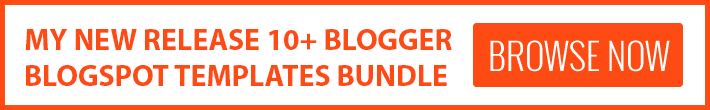 10+ Blogger Template Bundle