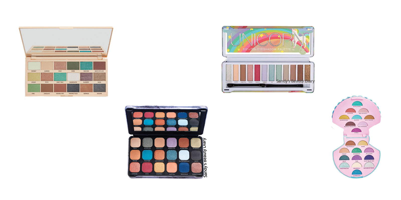 Dupes maquillage tarte high tides and good vibes