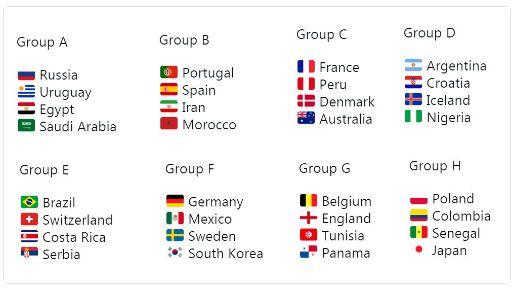 Jadwal bola piala dunia 2018 terlengkap dan terakurat stopboris Image collections