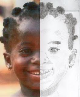 symétrie portrait
