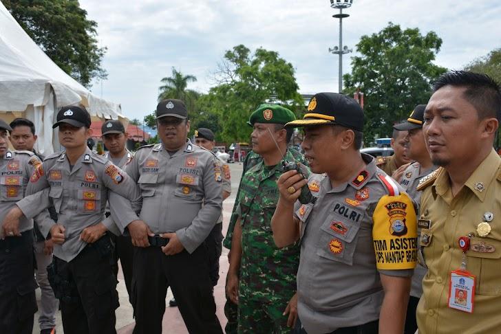 TNI dan Pemkab Bone  Gelar Apel Gladi Posko Penanggulangan Bencana Alam
