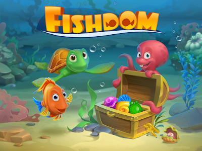 Fishdom Deep Dive gameplay