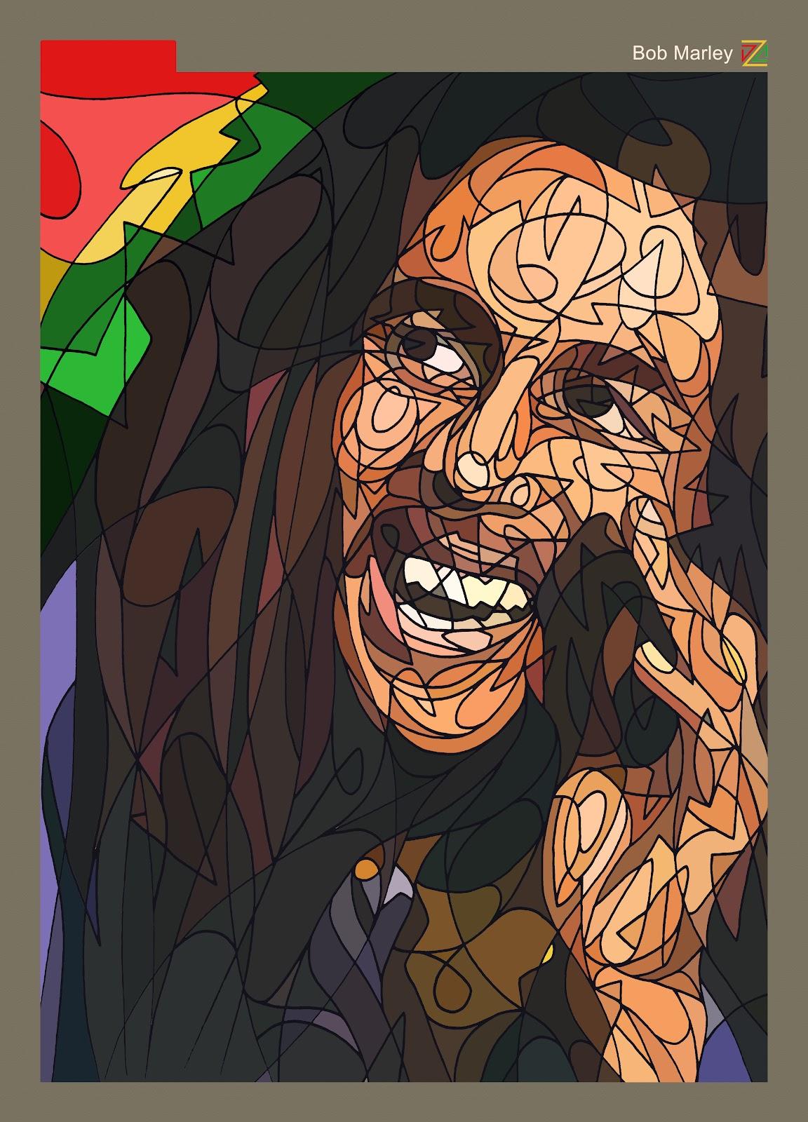 *撩亂草寫勾勒出熟悉KAWS的Pinocchio面孔:Dozow Chen 11