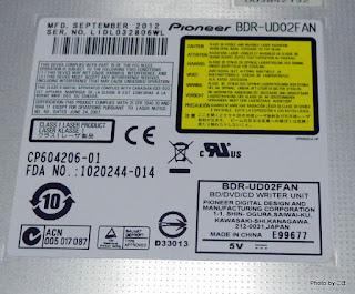 PioneerのBDR-UD02