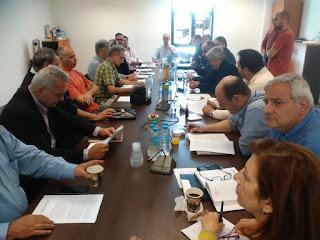 «Η Σύσκεψη του Συντονιστικού Οργάνου Πολιτικής Προστασίας της Δυτικής Αθήνας »