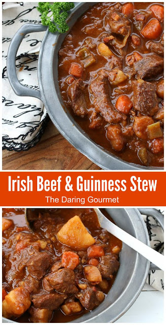 Traditional Irish Beef and Guinness Stew