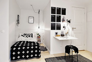 Examples Of Narrow, Minimalist Bedroom Design