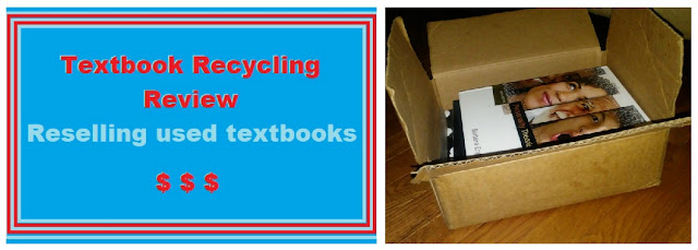 I sold my used textbooks!! | Textbook Recycling Review