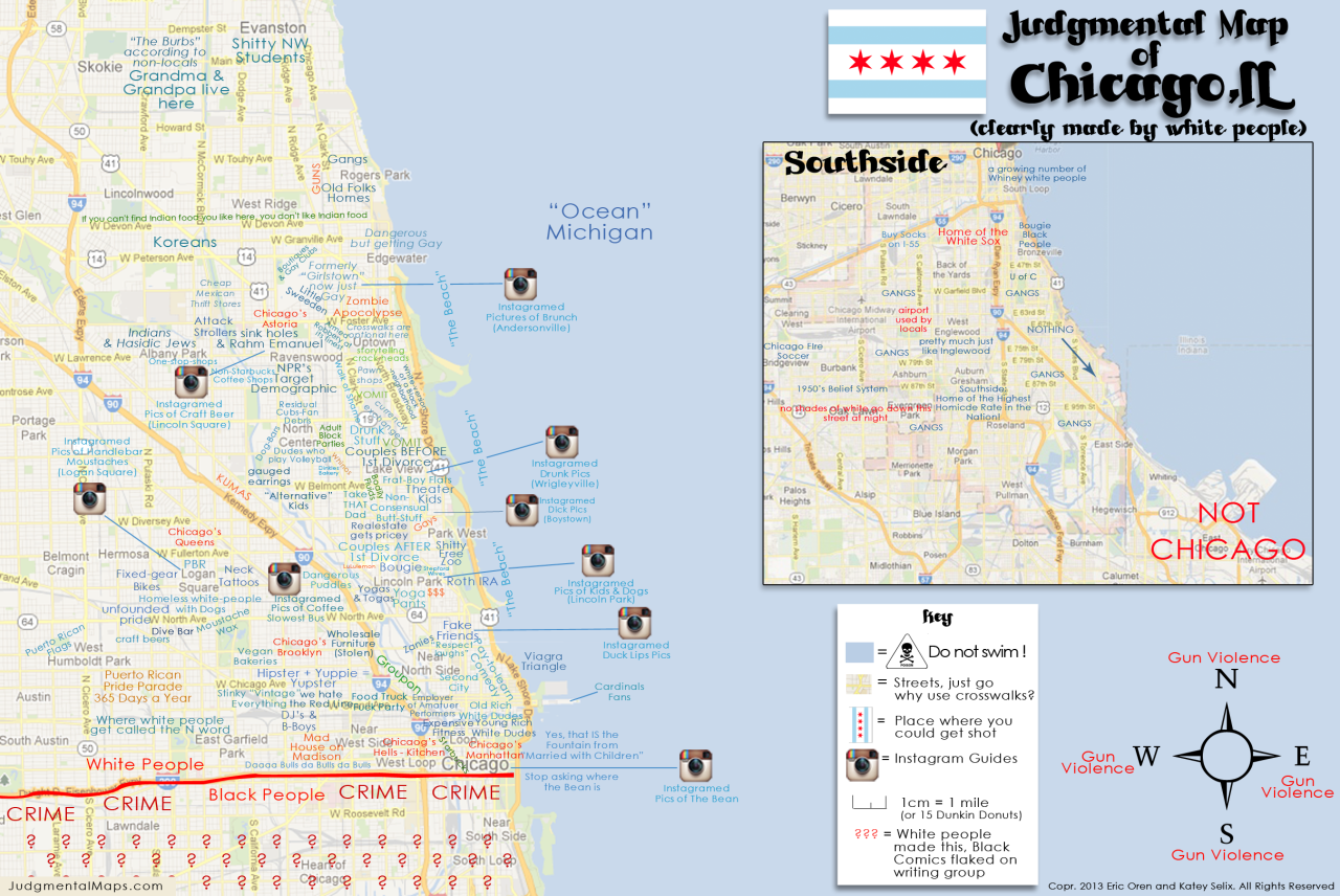 Something Amiss In Chicago The Corner Side Yard - Chicago map northwest suburbs
