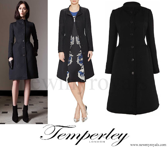 Kate Middleton wore Temperley London Callas Evening Coat