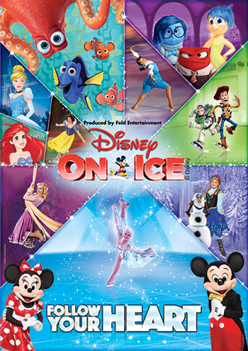 Disney On Ice  #DisneyOnIceSFL  Feld Entertainment