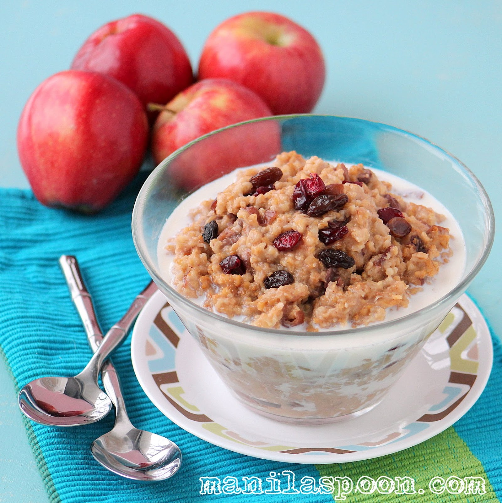 Overnight Steel Cut Oats (with Coconut and Cranberries)