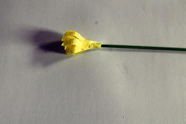 bloem papier knutselen kinderen