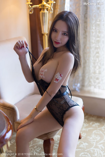 Hot girls Sexy Chinese porn model Zhou Yuxi (周于希) 11