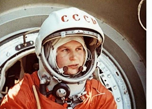 Valentina Thereshkova, la primera mujer astronauta en el espacio