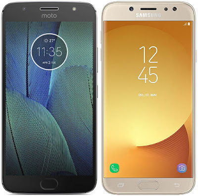 Motorola Moto G5s Plus vs Samsung Galaxy J7 (2017)