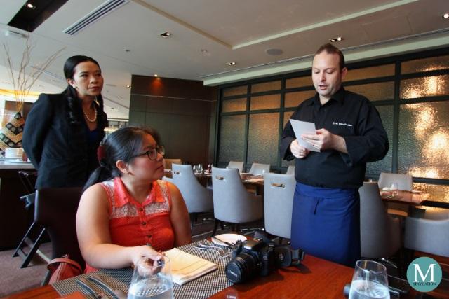 Chef Eric Weidmann of Makati Shangri-La Manila