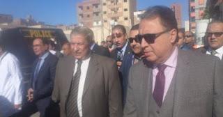 وزير الصحه يفتتح مستشفى الاورام بالاسماعليه