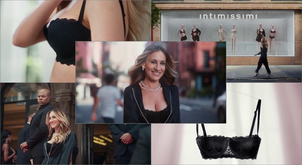 alta moda b096e e40ae Le modelle della pubblicità Intimissimi: Sarah Jessica ...
