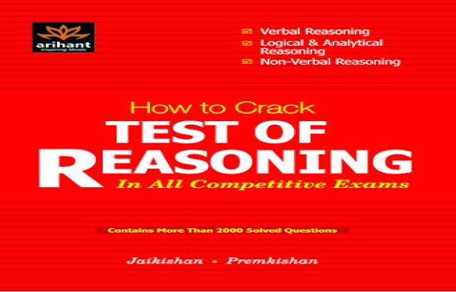 Book-PDF : Arihant's SSC Reasoning Question Bank With Solutions - SSC Officer