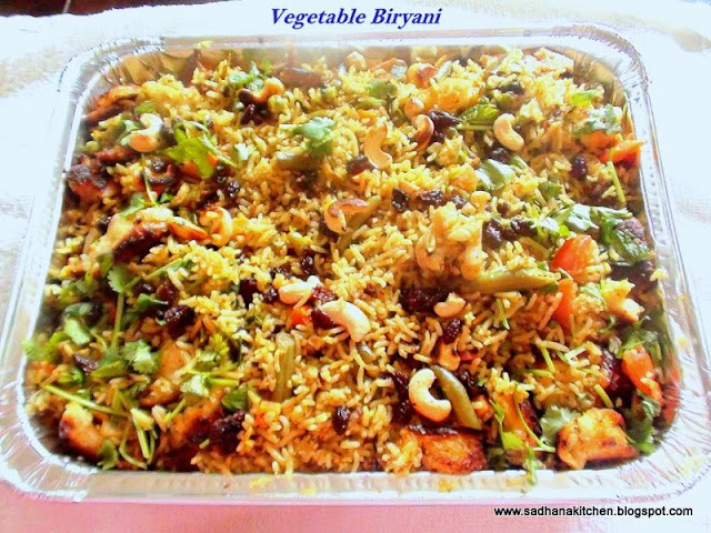Biryani,Rice,Spicy,vegetables
