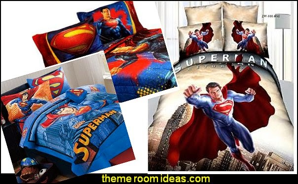 SUPERMAN BEDDING-SUPERMAN BEDDING Superman Bedding