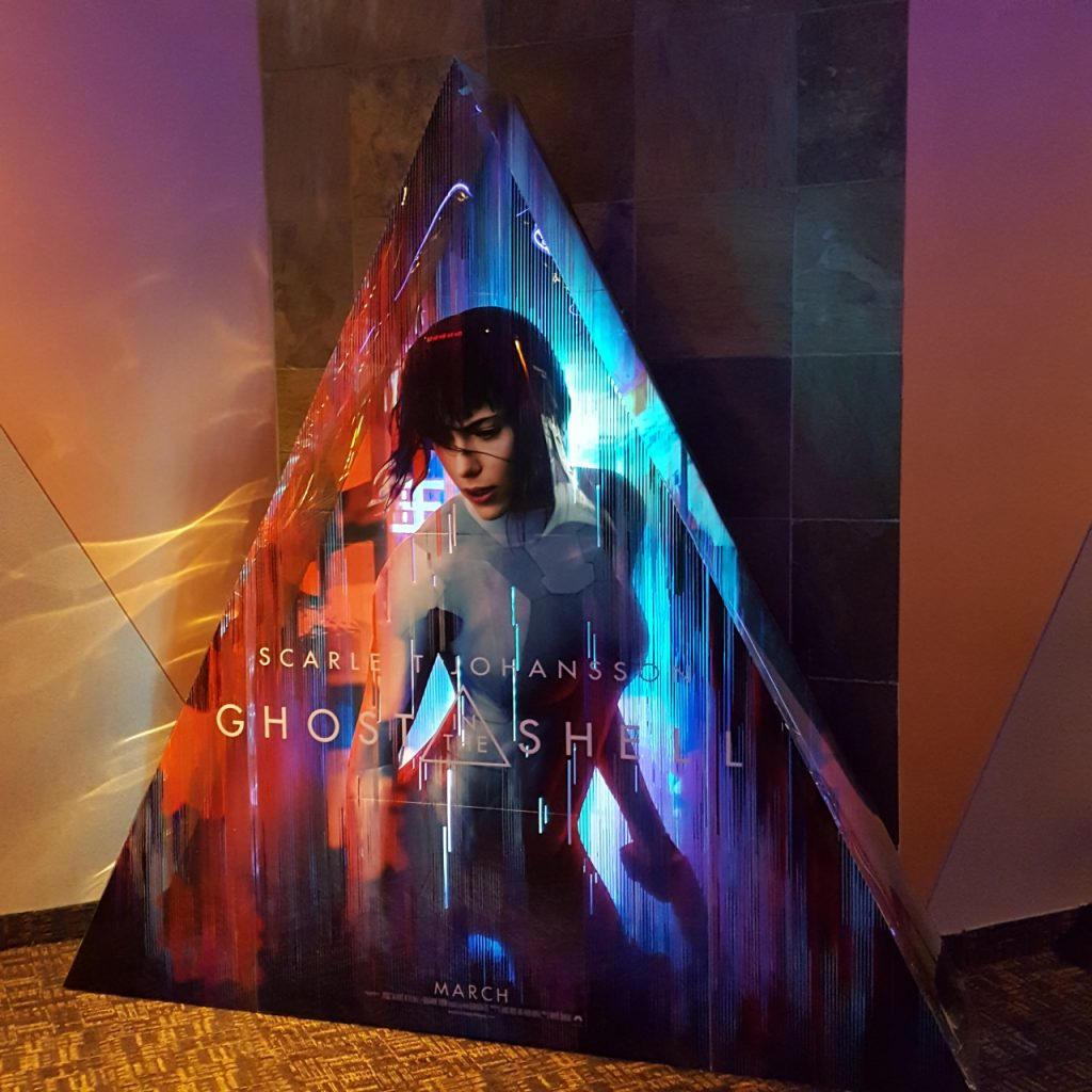 Stand reklamowy filmu Ghost in the Shell - Zdjęcie 2