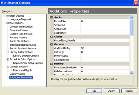 MusicMaster Scheduling - Music Scheduling Software for Windows