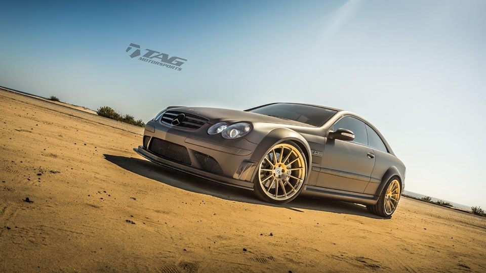 Mercedes benz w209 clk63 amg black series on hre for Mercedes benz clk63 amg black series