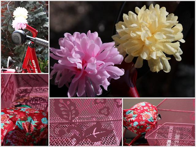Ü 50 Mode Blog, Fahrrad mit Blumen