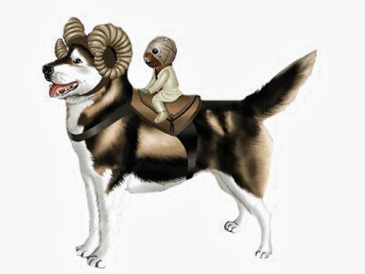 Star Wars Bantha At At And Tauntaun Dog Costumes   Car ...