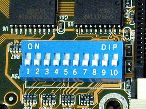 ايقاف/تشغيل الديب DIP لتخطي باسورد البيوس