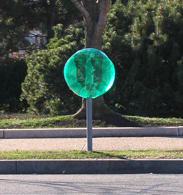 2leenk Odd And Bizarre Street Art Installation