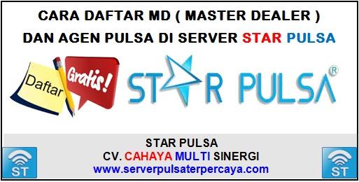 Cara Daftar MD dan Agen Pulsa di Server Star Pulsa