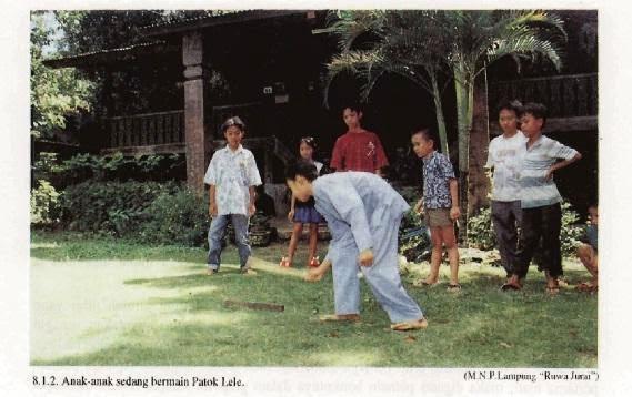 Permainan Tradisional Patok Lele Permainan Tradisional Indonesia