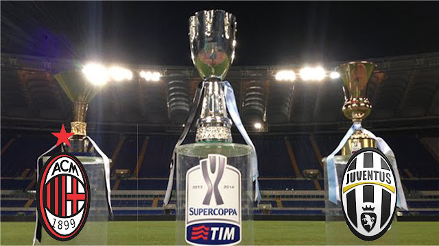 Supercoppa Italiana Milan Juventus 23 dicembre Doha video