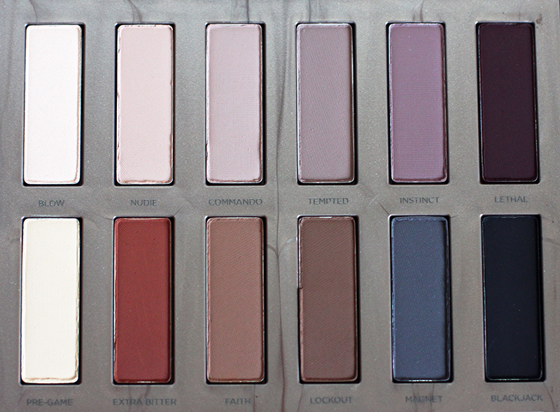 urban decay naked ultimate basics colors review