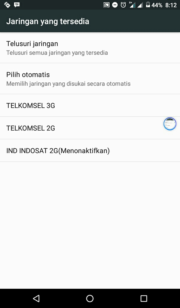 Cara merubah kualitas signal E Egde Ke H+ HSPA DI android ...