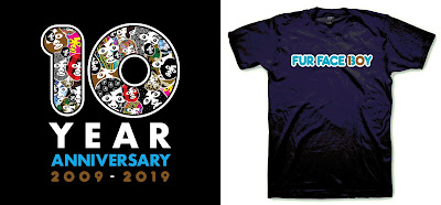 Fur Face Boy 10 Year Anniversary T-Shirt