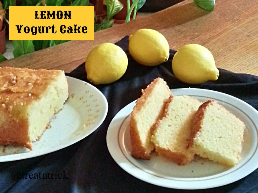 Donna Hay Lemon Yogurt Cake Recipe
