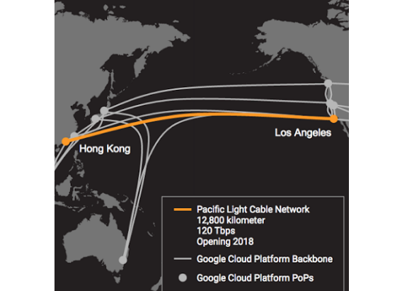 Google and Facebook Team Up for Pacific Light Cable ...